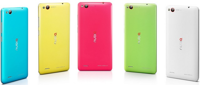 ZTE nubia Z7 mini разных цветов